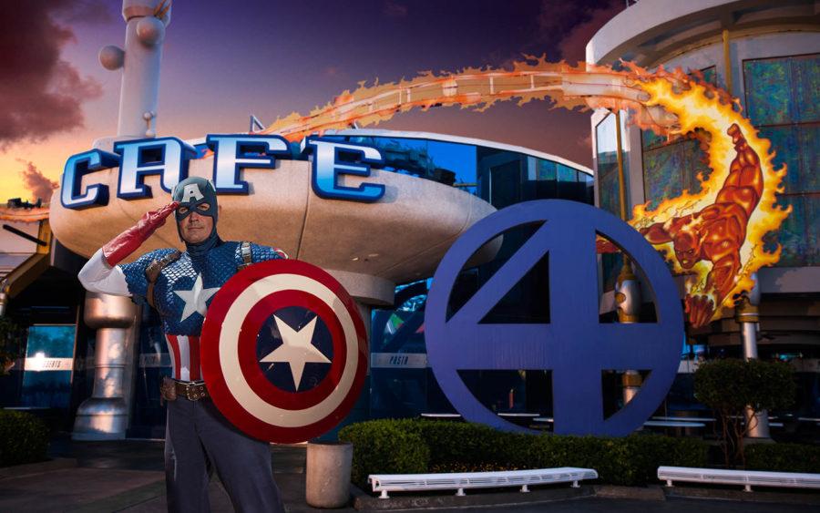 Marvel Character Dinner at Universal Orlando Resort