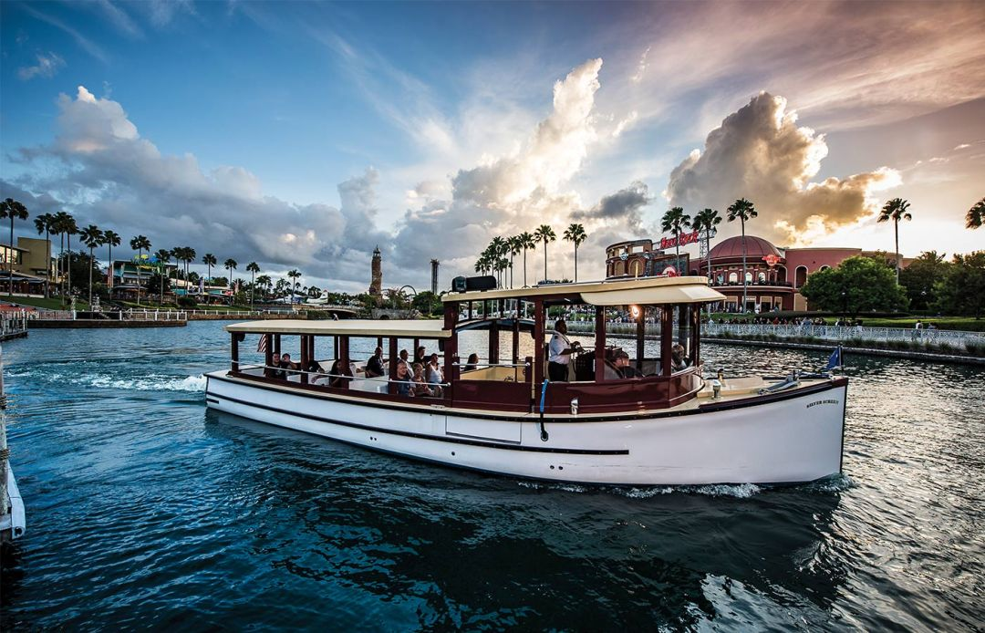 Water Taxi at Universal Orlando Resort