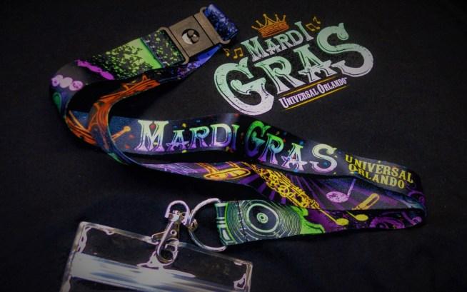 Mardi Gras Merch - Lanyard