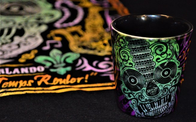 Mardi Gras Merch - Skull ShotGlass