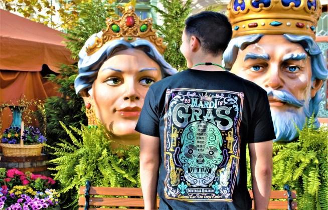 Mardi Gras Merchandise - Back of Shirt 2
