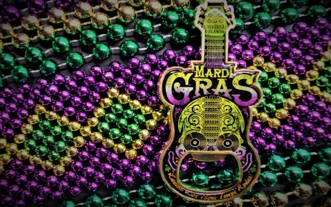 Mardi Gras Merchandise - Bottle Opener