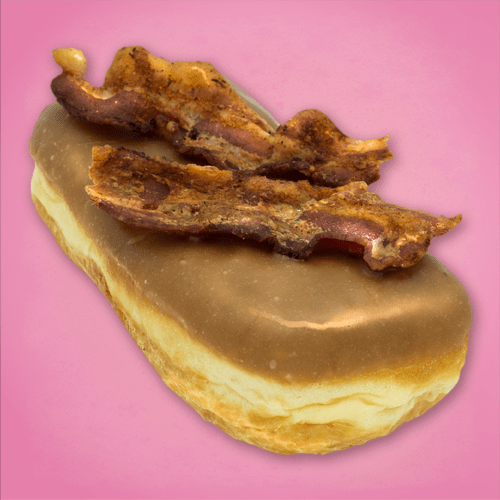 Maple Bacon Bay - Voodoo Doughnut at Universal CityWalk
