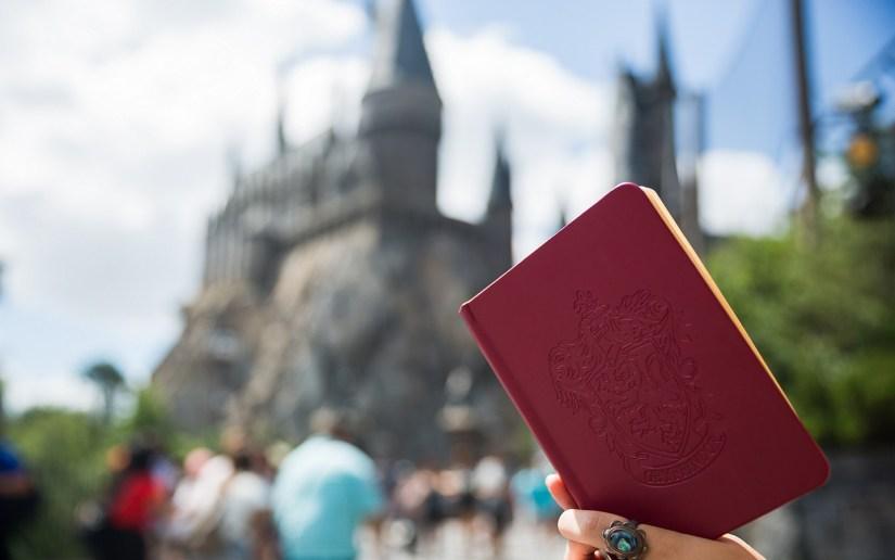 Inside My Bag - Hogwarts Castle Journal