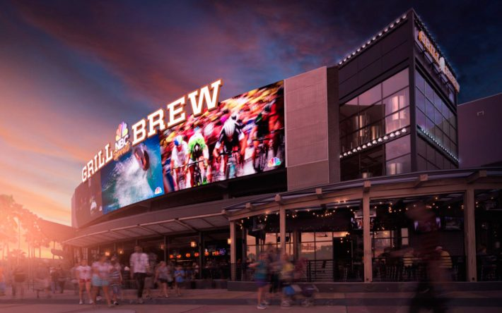All the Reasons You Need to Watch Sunday Night Football at NBC Sports Grill & Brew