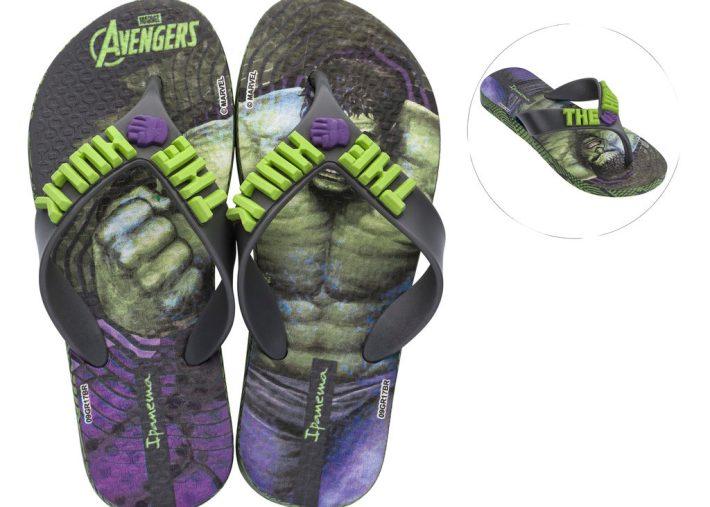 Hulk Ipanema Flip-Flops