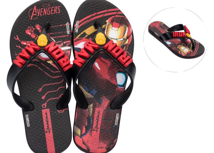 Iron-Man Ipanema Flip-Flops