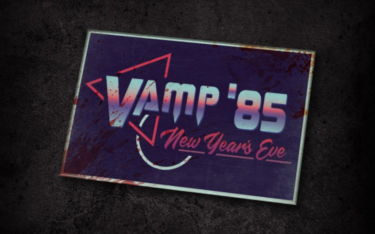 Vamp '85: New Years Eve HHN Scare Zone