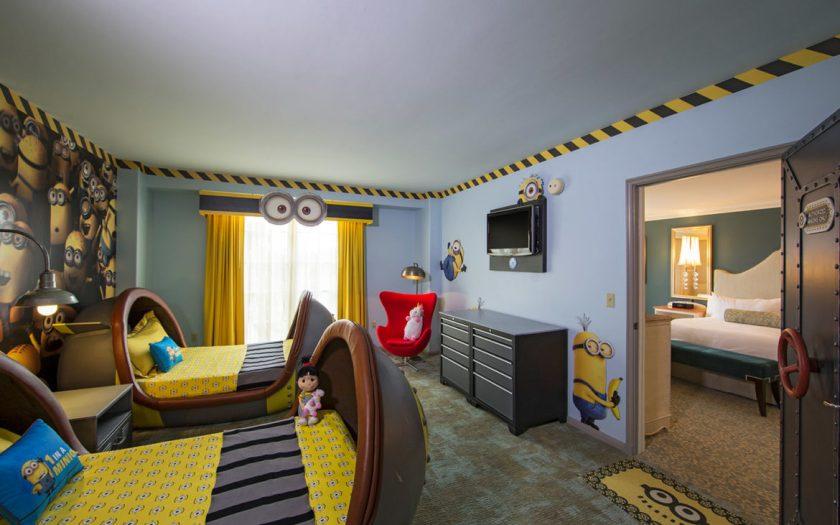 Loews Portofino Bay Hotel Despicable Me Suites para niños