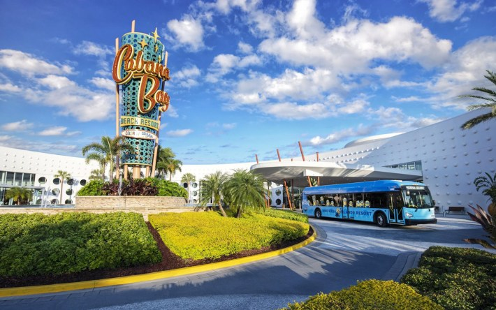 Complimentary Shuttles from Universal's Cabana Bay Beach Resort