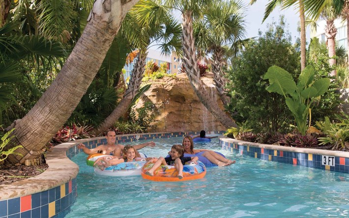 Lazy River at Universal's Cabana Bay Beach Resort