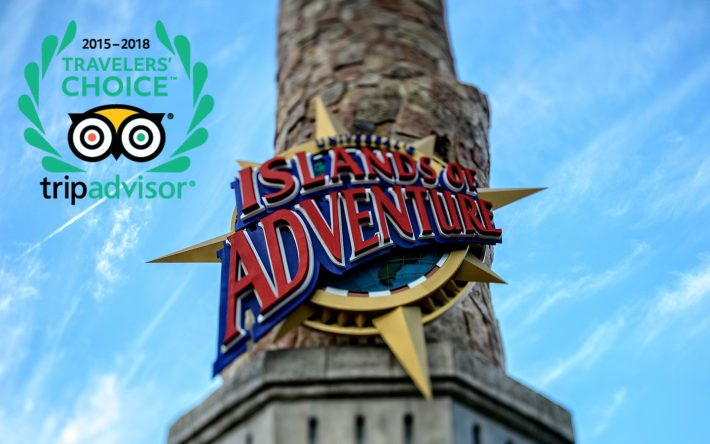 TripAdvisor Once Again Names Universal's Islands of Adventure Top Theme Park in the World