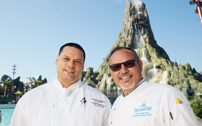 Celebrating Hispanic Heritage Month With Universal Orlando's Father-Son Chef Duo
