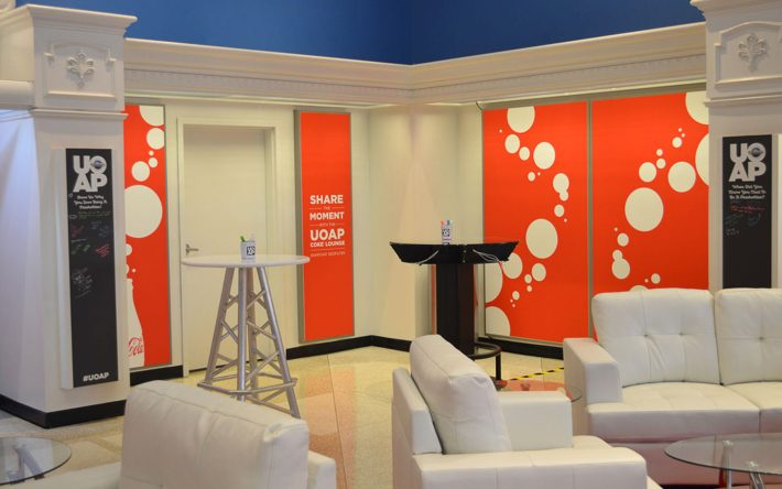 Exclusive UOAP Lounge Presented by Coca-Cola Now Open