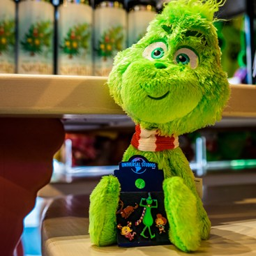 Grinch Plush and Pins Available in Seuss Landing