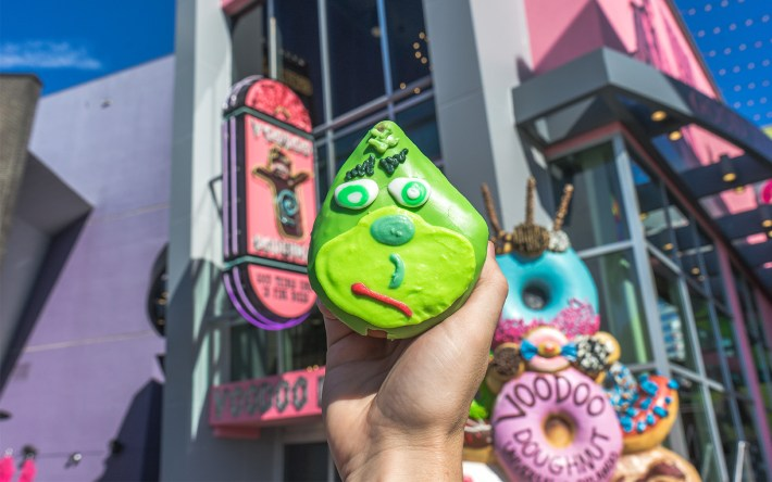 Grinch Voodoo Doughnut at Universal CityWalk