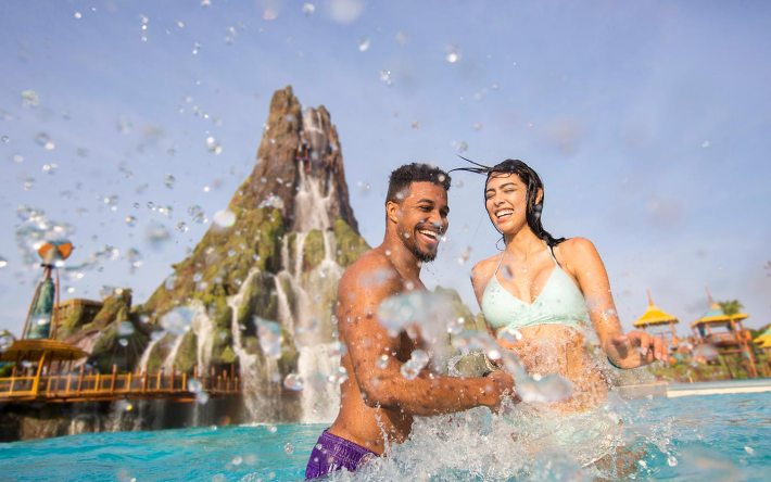 volcano bay universal orlando resort couples vacation