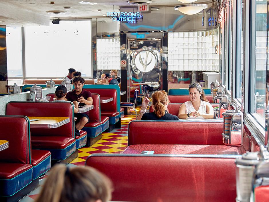 Mel's Diner in Universal Studios Florida