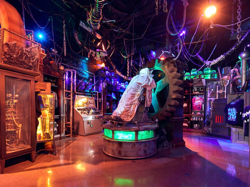 Tienda Tribute de Halloween Horror Nights - Frankenstein Lab