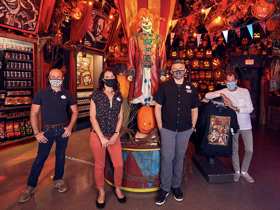 The Design Team Behind the Halloween Horror Nights Tribute Store
