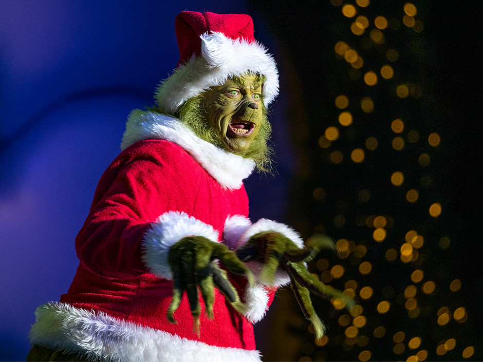 The Grinch at Universal's Islands of Adventure