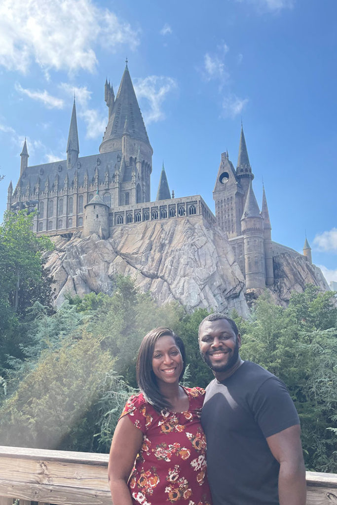 Hogwarts Castle in The Wizarding World of Harry Potter - Hogsmeade