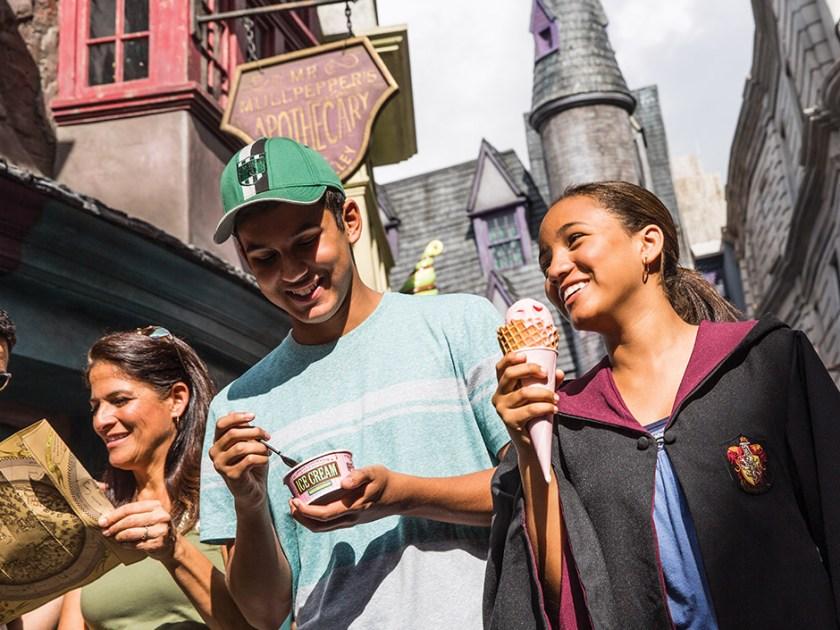 El mundo mágico de Harry Potter - Callejón Diagon