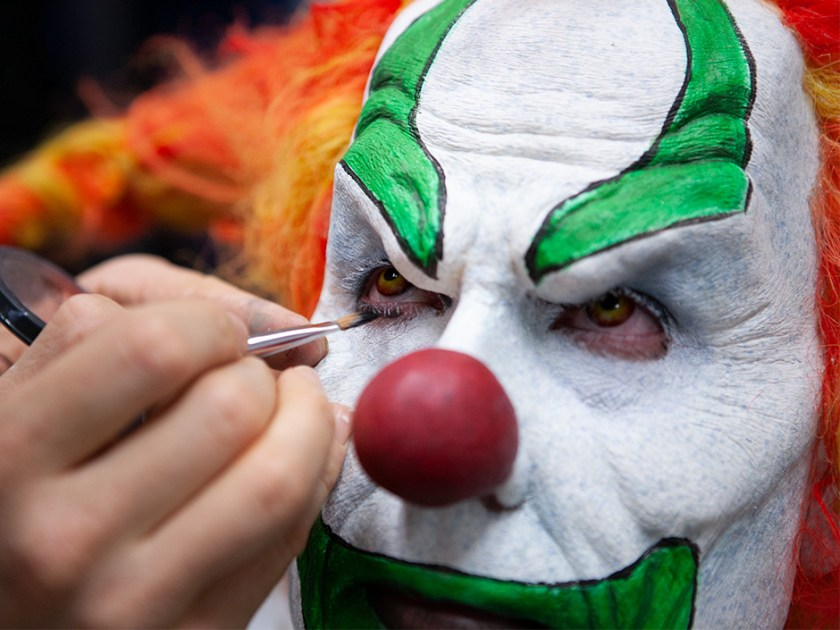 Detrás de cámaras - Jack the Clown Design