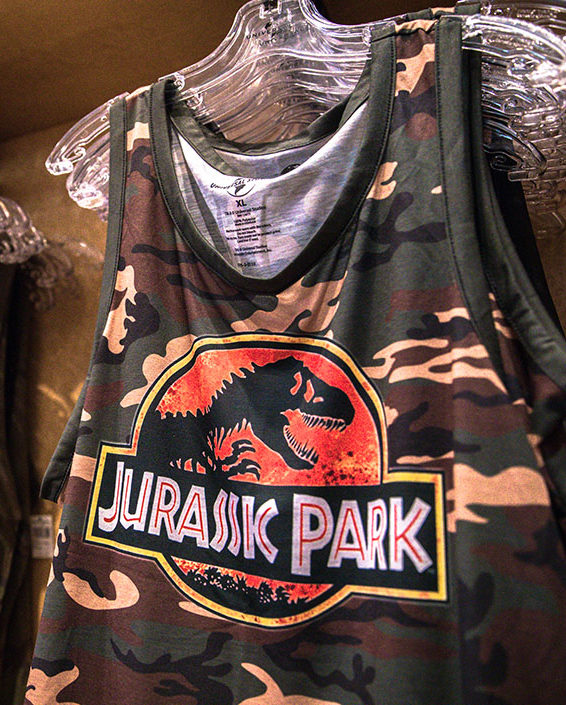 Jurassic Park Camouflage Collection