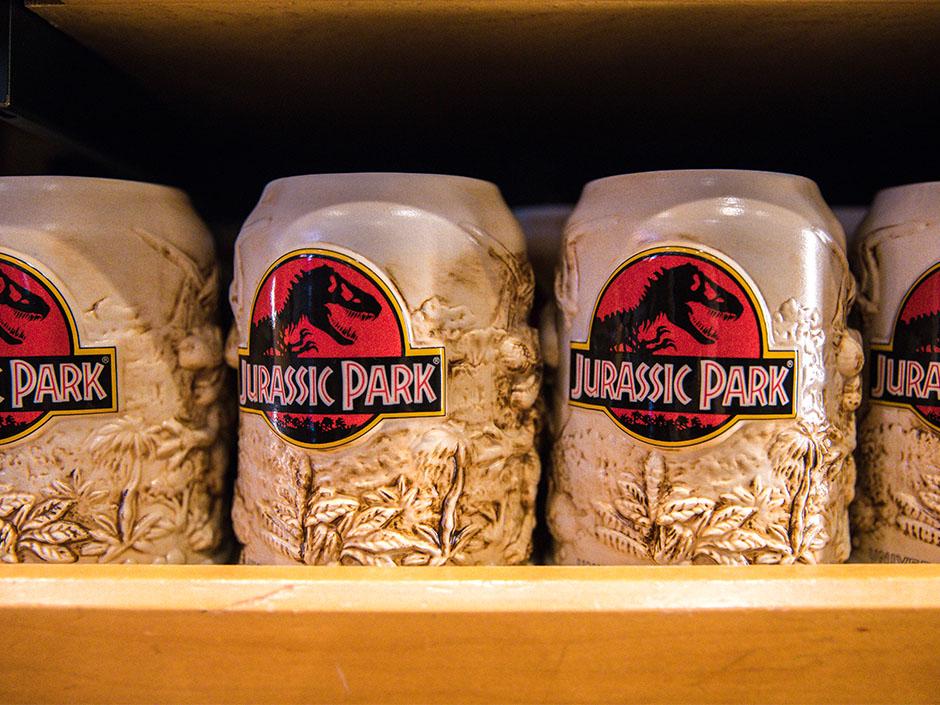 Jurassic Park Logo Mugs