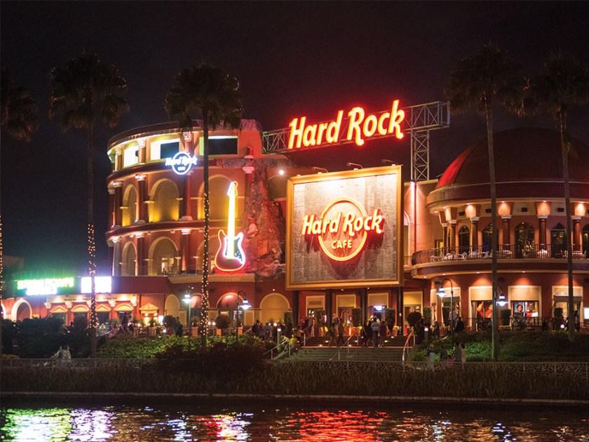 Hard Rock en vivo en CityWalk