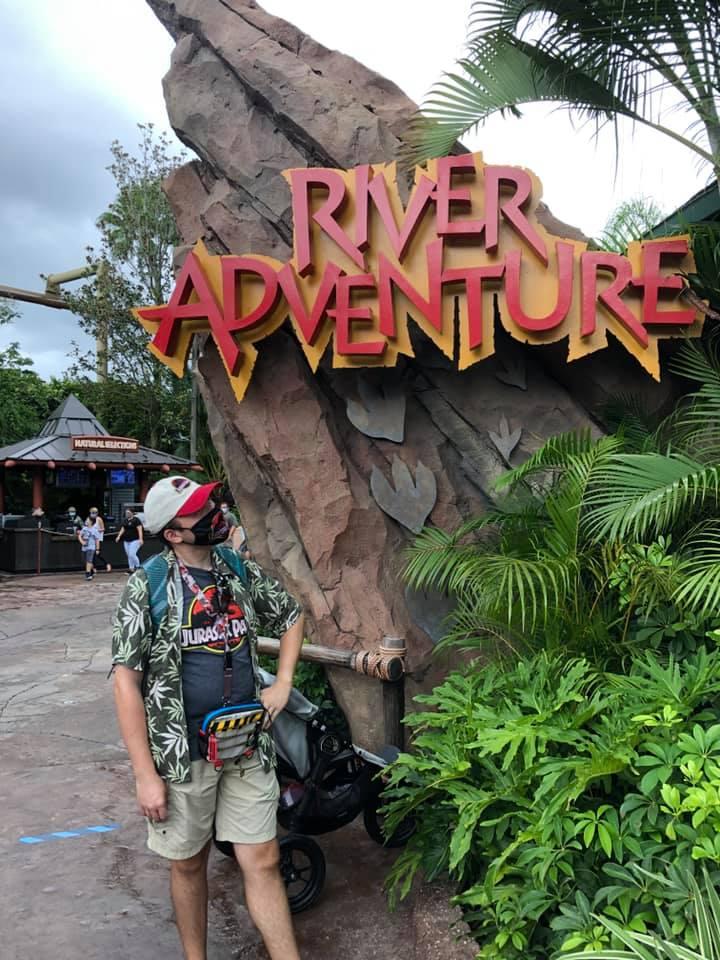 Aventura en el río Jurassic Park
