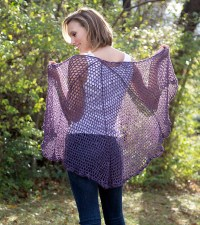Free Pattern Friday  Refracted Lace Shawl  Universal ...
