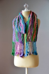 Crochet Pattern For Scarf Yarn ~ Dancox for