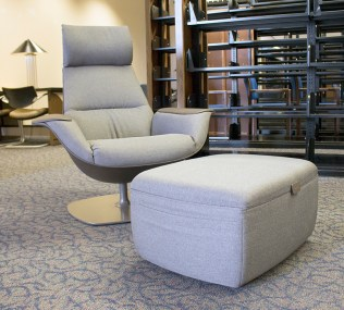 Massaud Chair and Ottoman