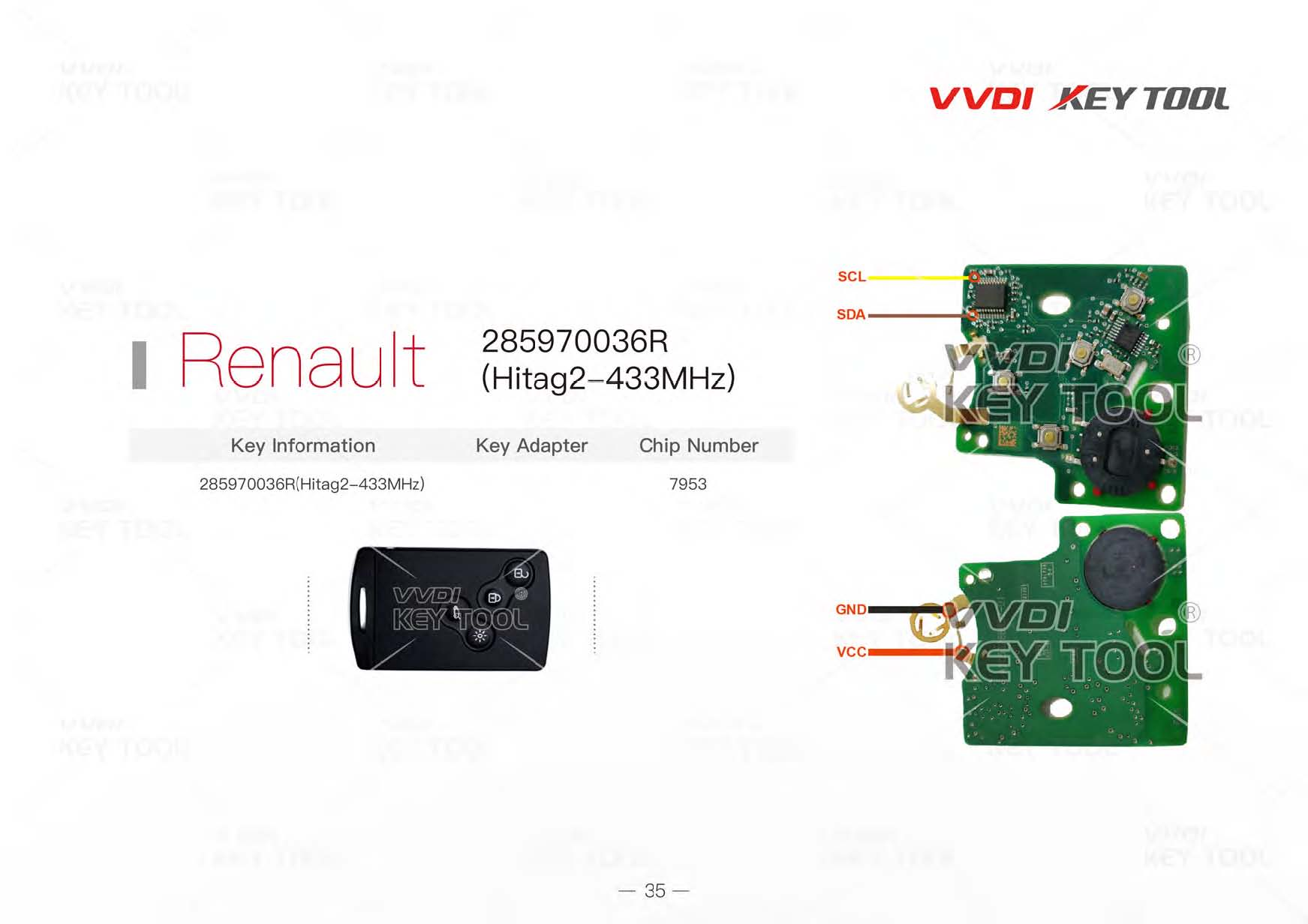 Vvdi Key Tool Remote Unlock Wiring Diagram All Here