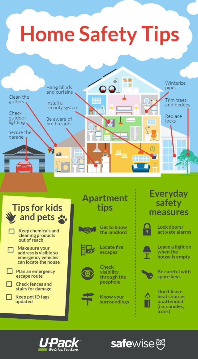 Home Safety Tips  UPack