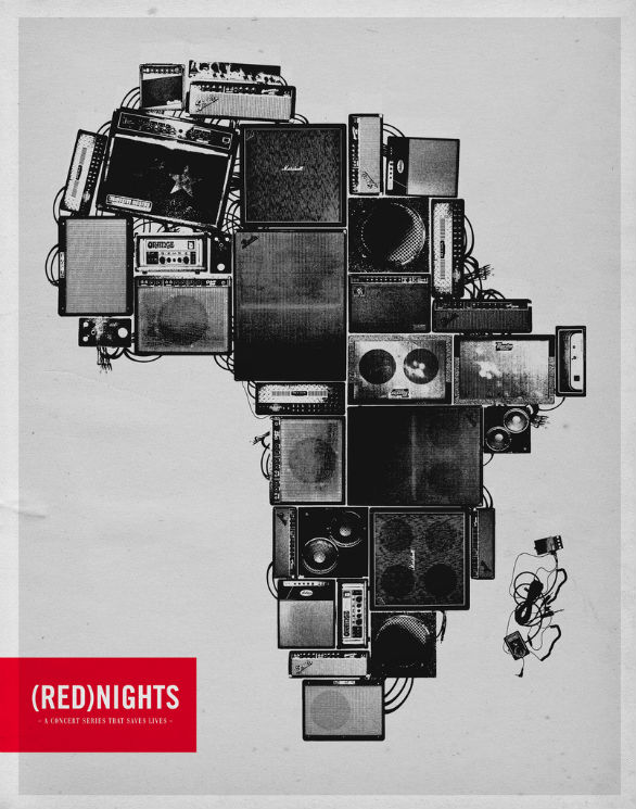 Poster Design Inspiration - Red Nights