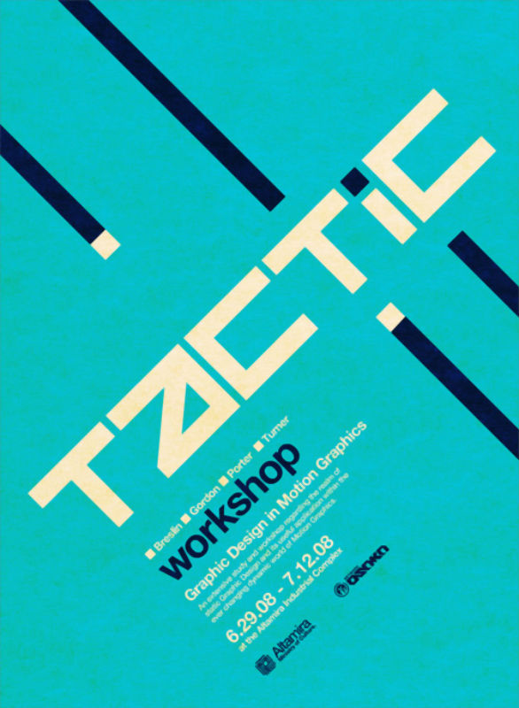Poster Design Inspiration - Tactic