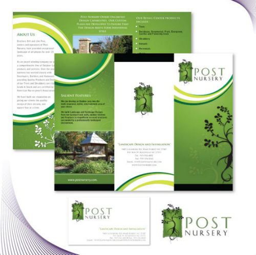 Brochure Samples Examples Of Basic Brochure Designs