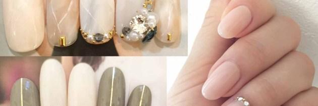 ♥ 大人的凝膠指甲!氣質與優雅的總和
