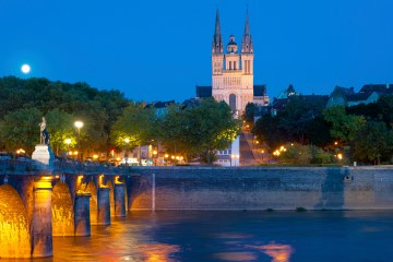 Angers-at-a-summer night