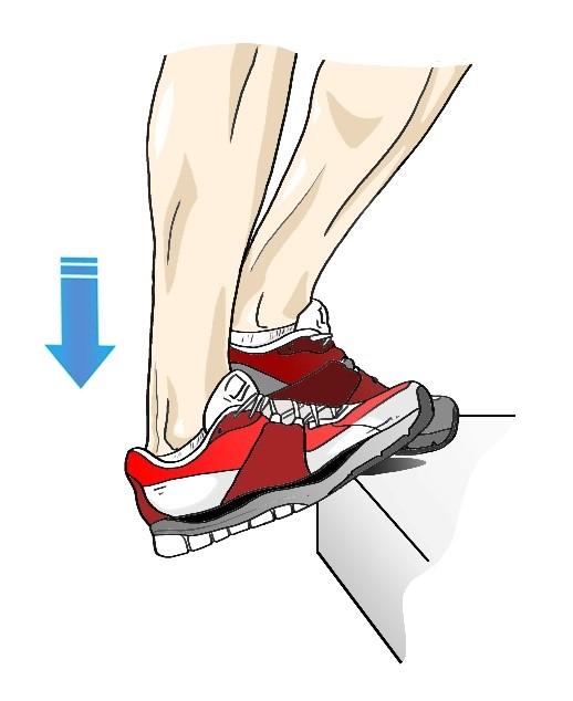 2 étirements pour éviter la tendinite du tendon d'Achille