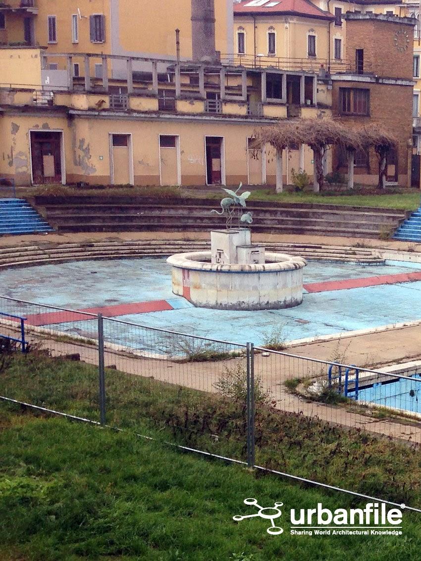Milano  Porta Romana  Vi ricordate che c una bella piscina dietro il muro  Urbanfile Blog