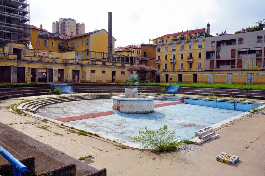 Milano  Porta Romana  La Piscina Caimi in restauro  Urbanfile Blog