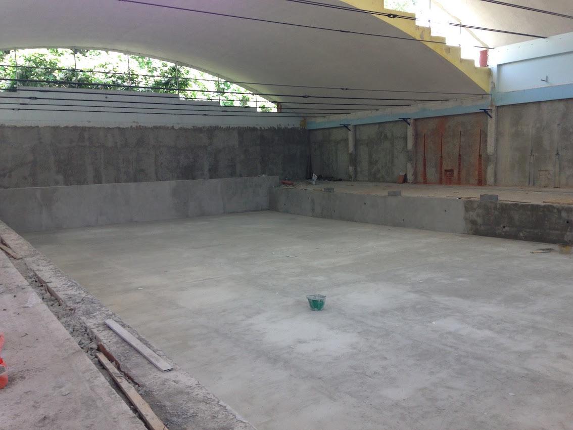 Milano  Zona Affori  La piscina Iseo riqualificata