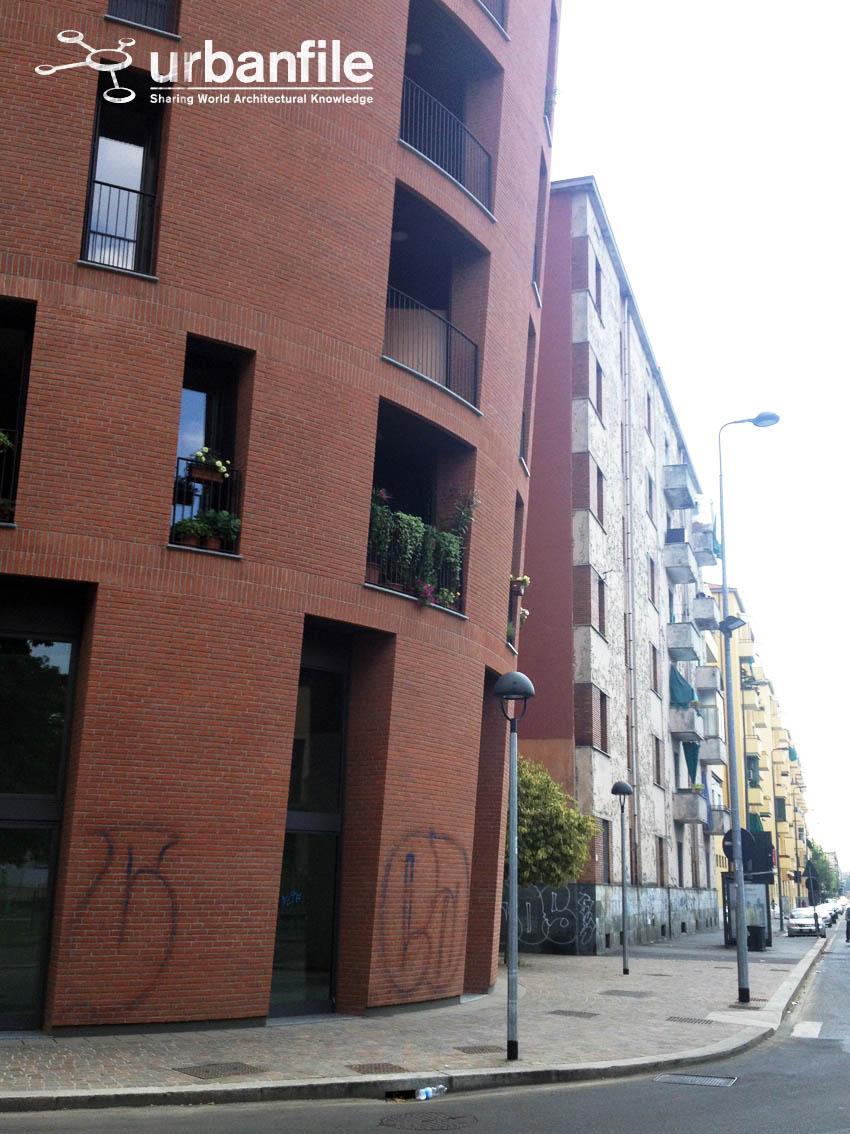 Milano  San Siro  La Torrazza in Piazzale Segesta