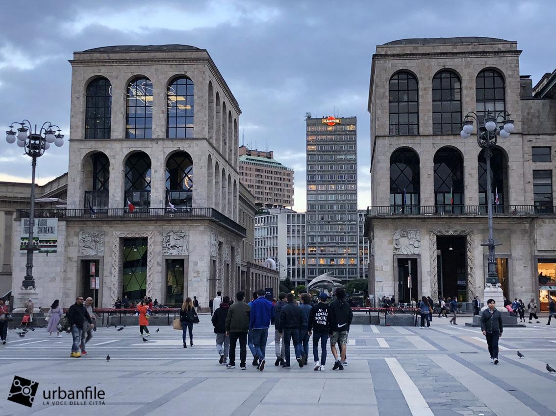 Milano  Duomo  Riapre al pubblico Terrazza Martini