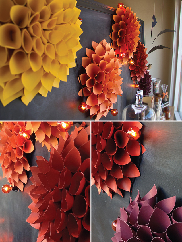 Project Fall Plume Wreath Window