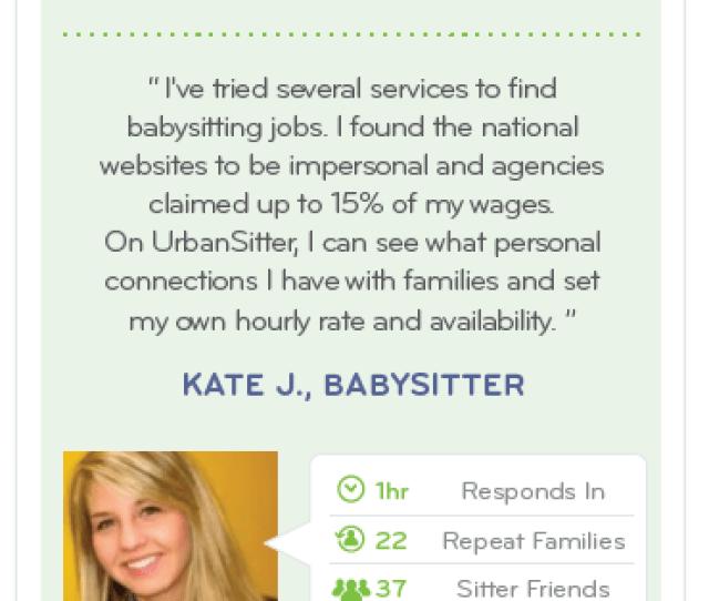 Find Babysitting Jobs